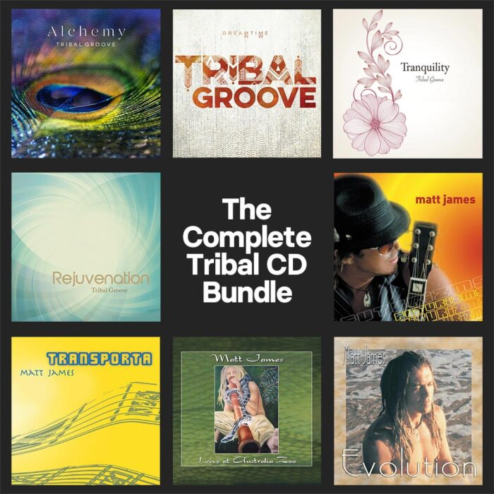 The Complete Tribal Groove CD Bundle